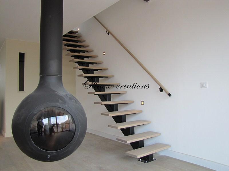 Creation escalier Charleroi
