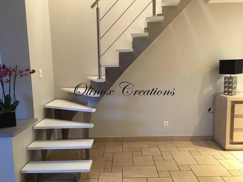 Création escalier Nivelles