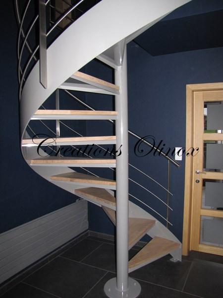 Escalier colimaçon Brabant Wallon