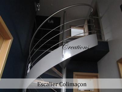 escalier int 233 rieur design et moderne cr 233 ation sur mesure