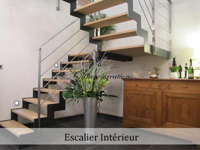 fabricant d escalier en inox et m tal sur mesure. Black Bedroom Furniture Sets. Home Design Ideas