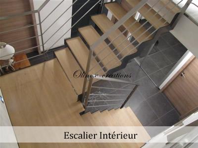 Fabricant escalier en inox