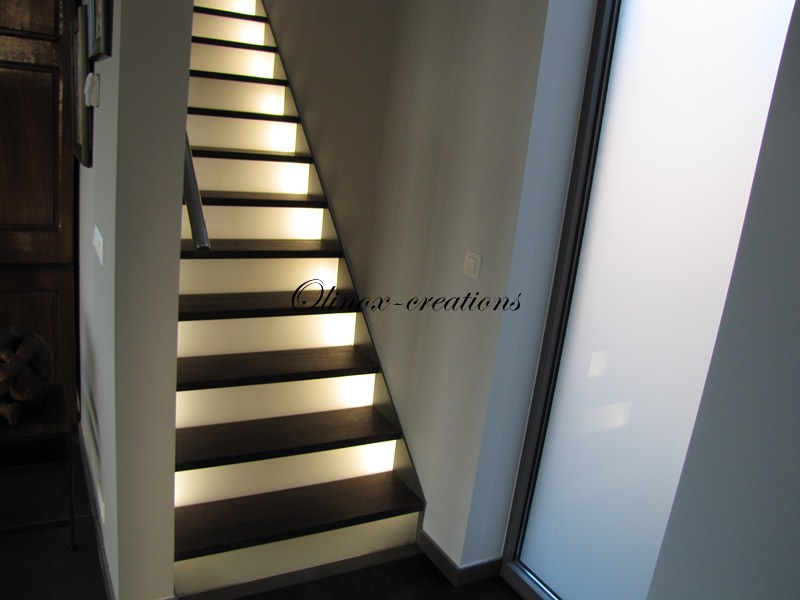 Escalier pr s de la louvi re par olinox cr ations - Creation escalier interieur ...