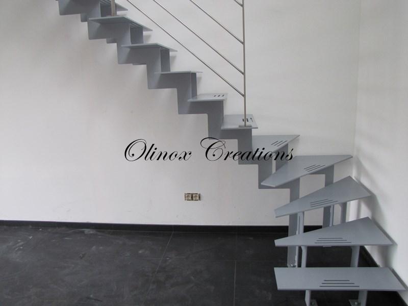 Escalier sur Tournai - Olinox Créations
