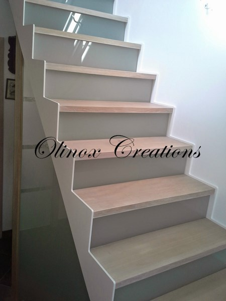 escalier dans le brabant wallon avec olinox cr ations. Black Bedroom Furniture Sets. Home Design Ideas