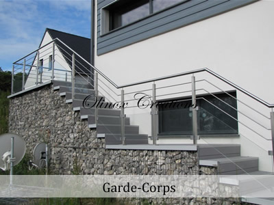 Escalier En Inox Design, Garde Corps En Métal Sur Mesure