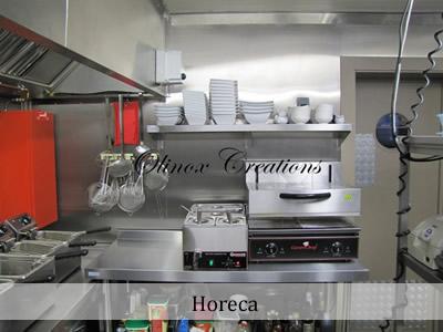 Cuisine en inox (Horeca)