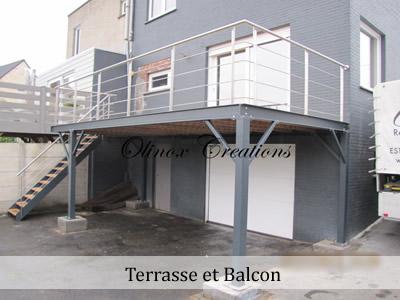 Création de terrasse et balcon