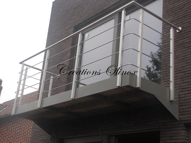 Balcon terrasse m tallique id es de for Recouvrement de balcon exterieur