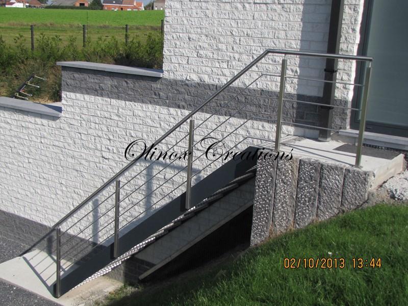 escalier exterieur 13 marches