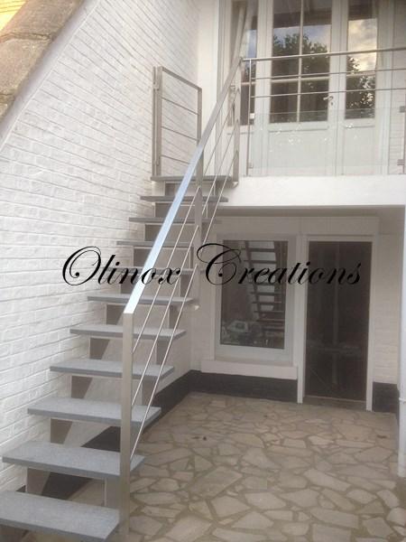 Escalier Extrieur Pour Un Accs Au Jardin Ou Terrasse