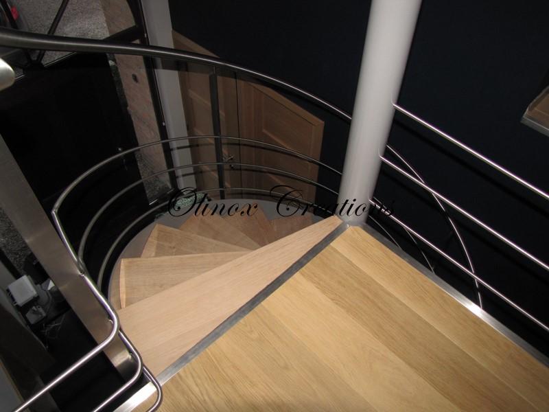 escalier en colima 231 on pour l int 233 rieur en m 233 tal bois ou inox