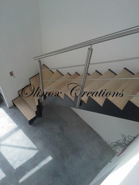 Escalier Sur Tournai Olinox Cr Ations