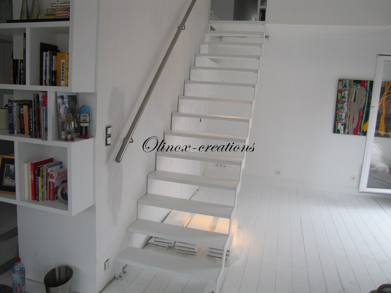 Escalier lille olinox cr ations - Creation escalier interieur ...