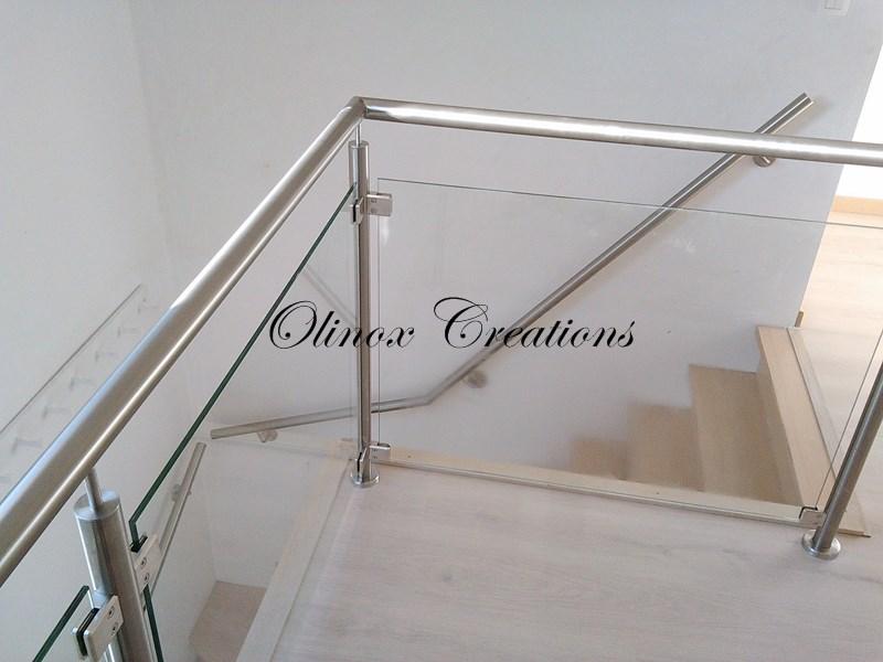 Nouveautes escaliers par olinox cr ations - Plexiglass pour garde corps ...