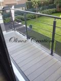 Recouvrement de terrasse et garde corps extérieur