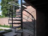 Olinox Creations Escalier colimaçon extérieur