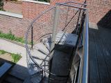 Escalier hélicoïdale extérieur Olinox Creations