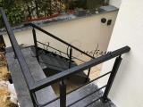 escalier et son garde corps