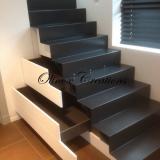 Escalier métallique à Coxyde