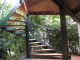 Escalier colimaçon extérieur