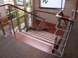 Escalier avec palier intermédiaire