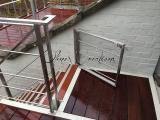 Terrasse avec portillon