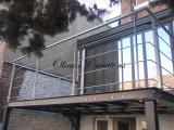 Terrasse métal recouvrement en inox