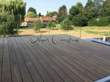 Terrasse acier et bois creations