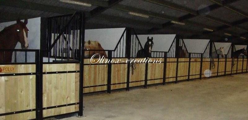 Mobilier sur mesure desserte en inox table basse m tal - Porte de box pour chevaux a vendre ...